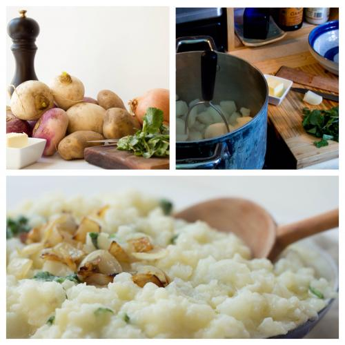 Mashed turnips