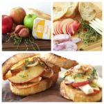 apple cheese sliders
