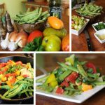 Summer Beans with Fresh Tomatoes and Garlic