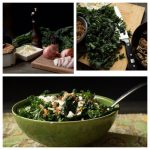 Kale Salad with Wheat Berries