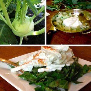 Kohlrabi-Yogurt Salad