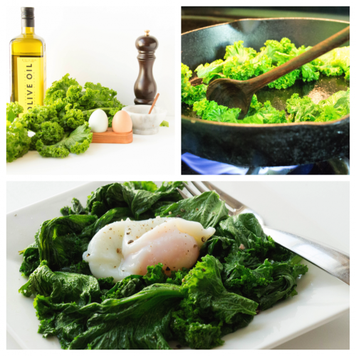 Mustard Greens Breakfast