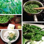 Quick Snow Peas with Lemon Herb Butter