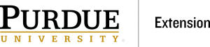 logo for Purdue University Extension